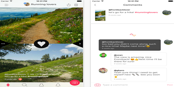 Frontback – Android, iOS