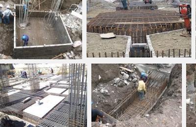 Baja tulangan dan sengkang yang telah dipotong dan dibengkokan dibawa ke lapangan untuk di Metode Pelaksanaan Pekerjaan Pembesian Poer beton