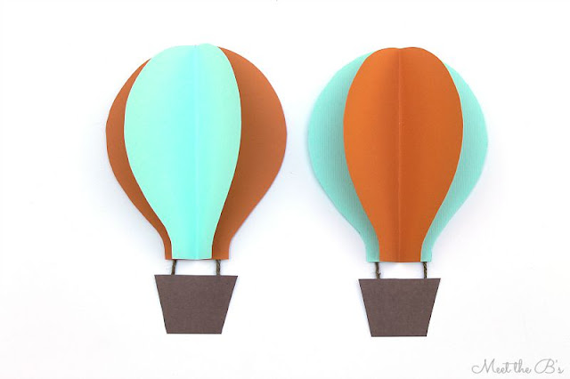 How to make a wooden height board for a hot air balloon themed nursery