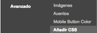 Añadir CSS