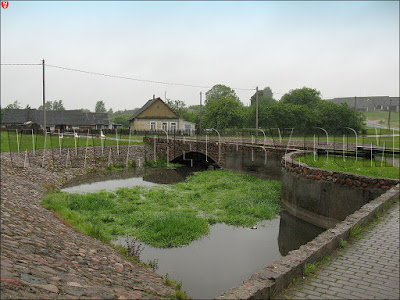 каменный мост в Крево