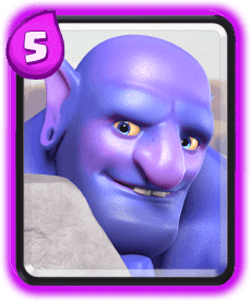 Carta do Lançador do Clash Royale