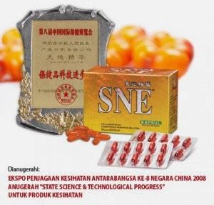 SNE Kapsul antioksidan kuat menjaga dayatahan tubuh dan nutrisi sel lengkap rp 810.000,-