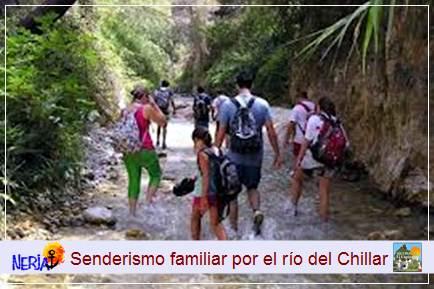 El recorrido por Los Cahorros del Río Chillar es uno de los itinerarios de senderismo familiar más sorprendente y refrescante para el verano