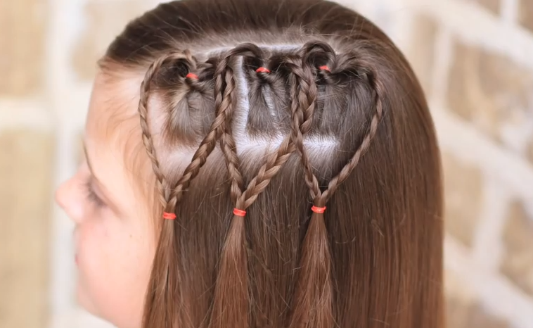 Fotos De Peinados Para Nenas - 1 001 imágenes de peinados para niñas Peinados Fáciles