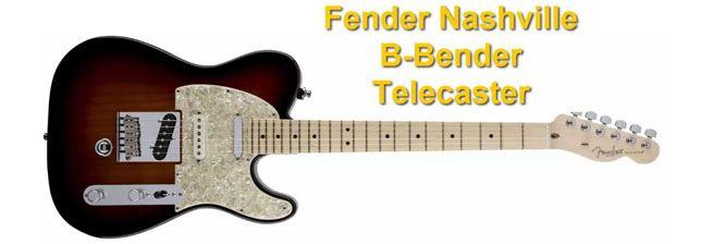 Fender Nashville B-Bender Telecaster con el Sistema Instalado de Serie