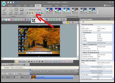 Cara Crop Video Dengan Menggunakan VSDC2