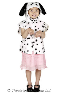 Dalmatian Dog Tabard One Size Kids Costume from Theatrical Threads Ltd