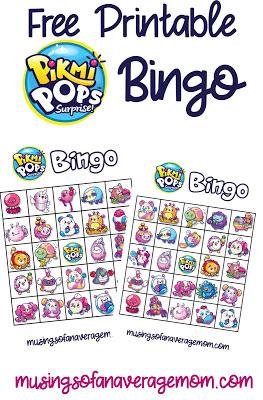 pikmi pop bingo