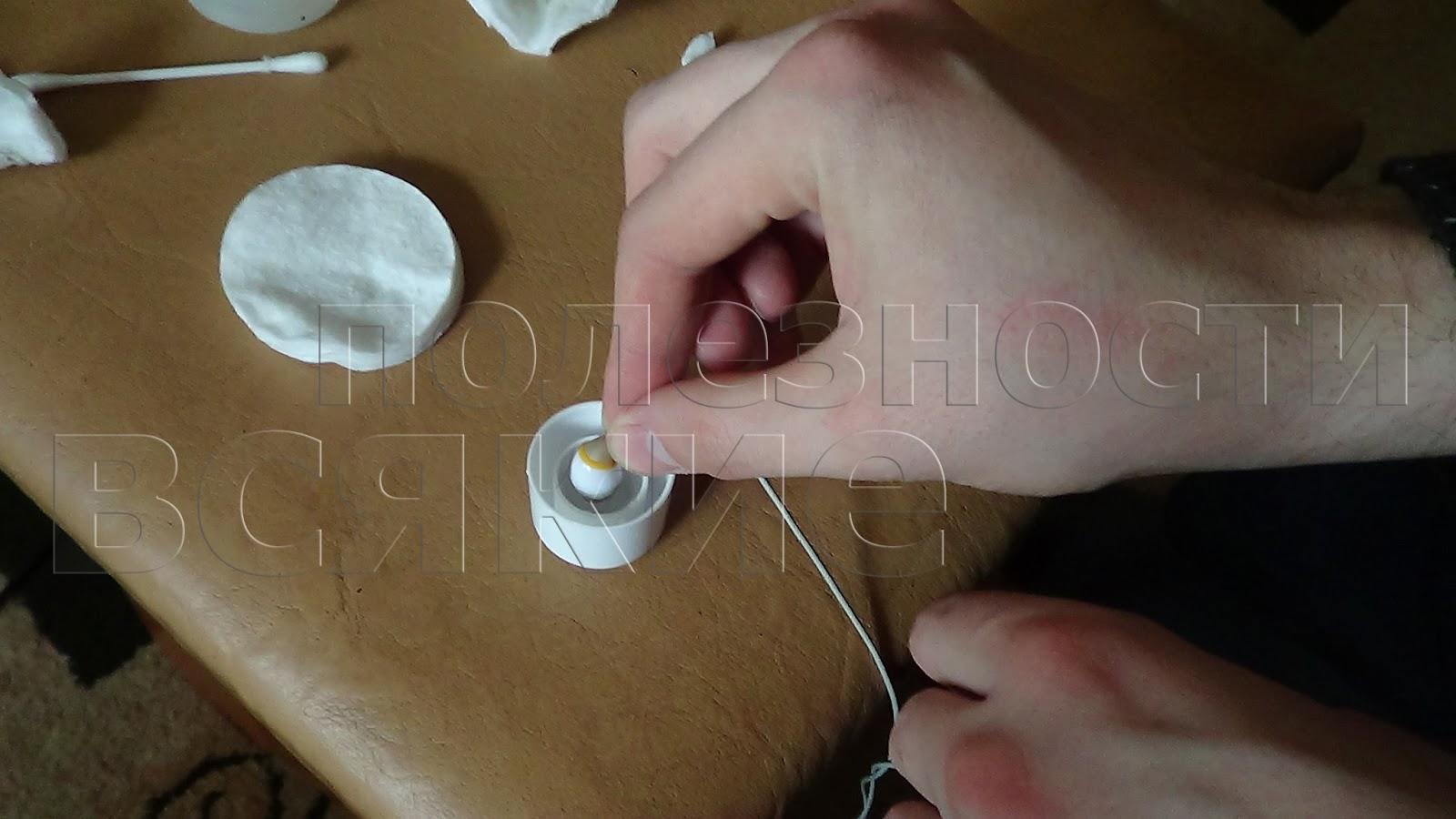 Как почистить наушники от ушной серы
