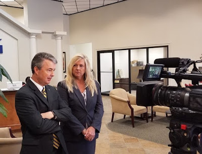 Alabama Attorney General Steve Marshall and Mobile County District Attorney Ashley Rich
