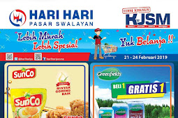 Katalog Promo HARI HARI Swalayan Weekend 21 - 24 Februari 2019