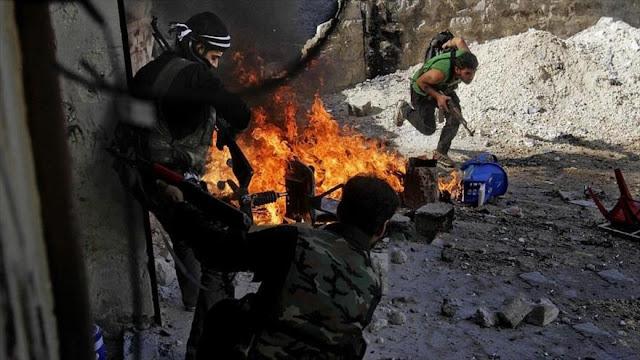 500 hombres armados deponen sus armas ante el Ejército sirio