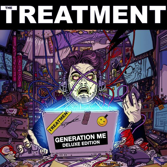 THE TREATMENT - Generation Me [Deluxe Edition +4] (2016) full