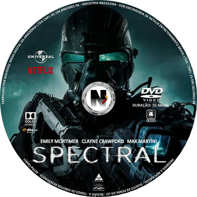 Label DVD Spectral