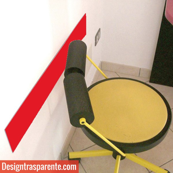 battisedie proteggi muro in plexiglass