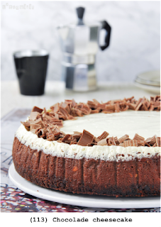 Chocolade cheesecake