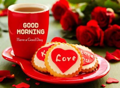 cute love good morning breakfast image for whatsapp