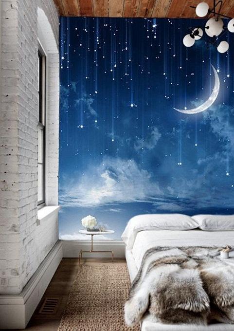 Inspiracje W Moim Mieszkaniu Dekoracyjna Sciana W Sypialni Czyli