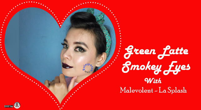 Smokey Look for Valentine Day