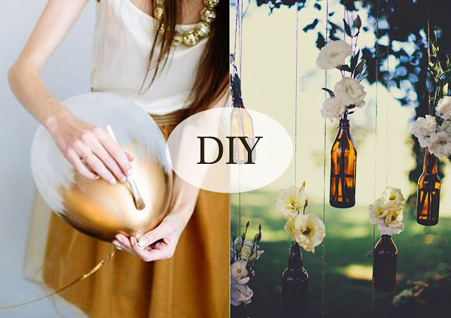 DIY - balonky a vázy