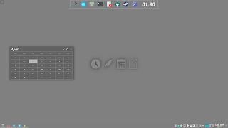 KDE Plasma Flat Activities Wallpaper 5 Plan