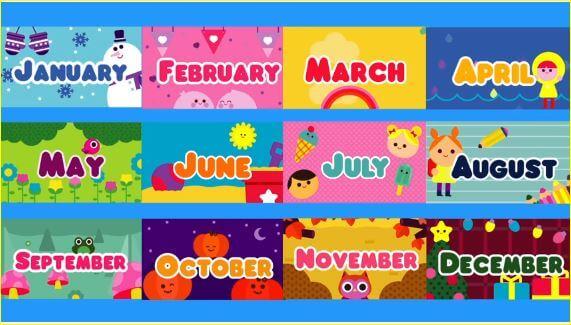 Jugando Y Aprendiendo Juntos Months Of The Year Los Meses Del Ano