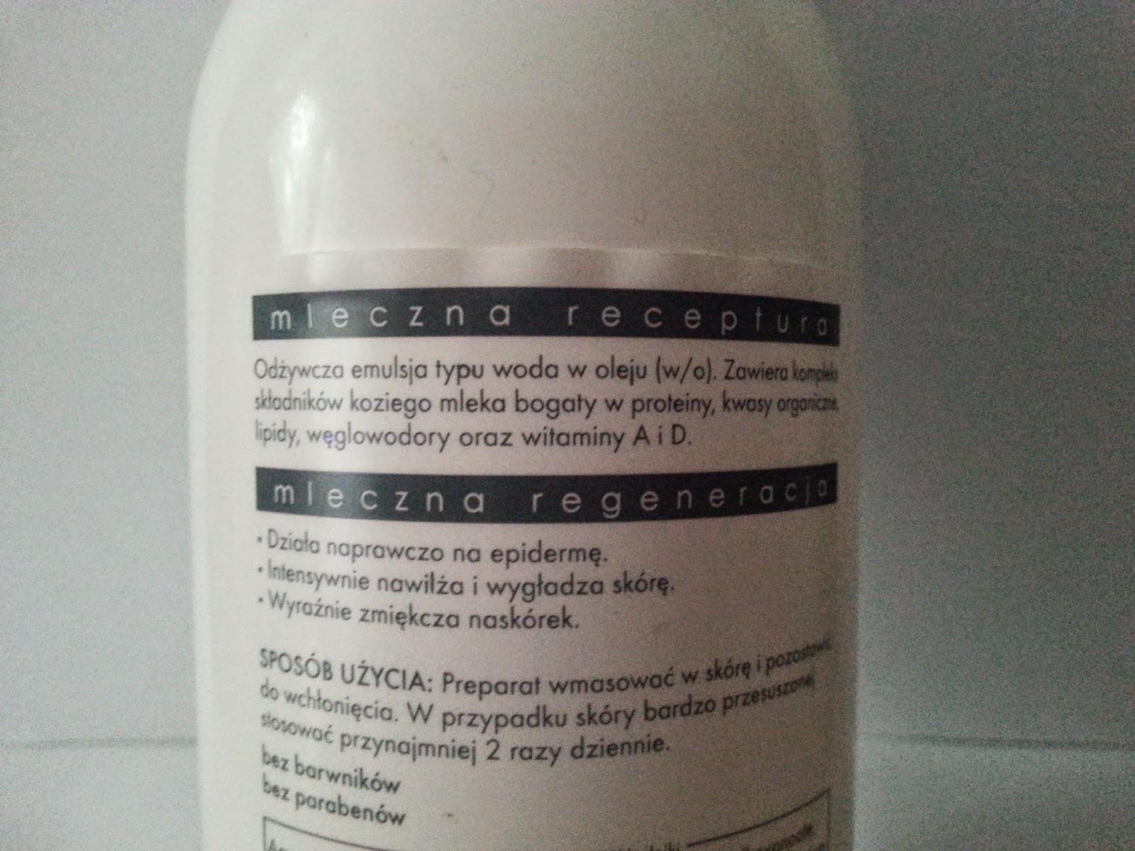 Ziaja Kozie Mleko - mleczna regeneracja