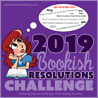 2019 #BookishResolutions