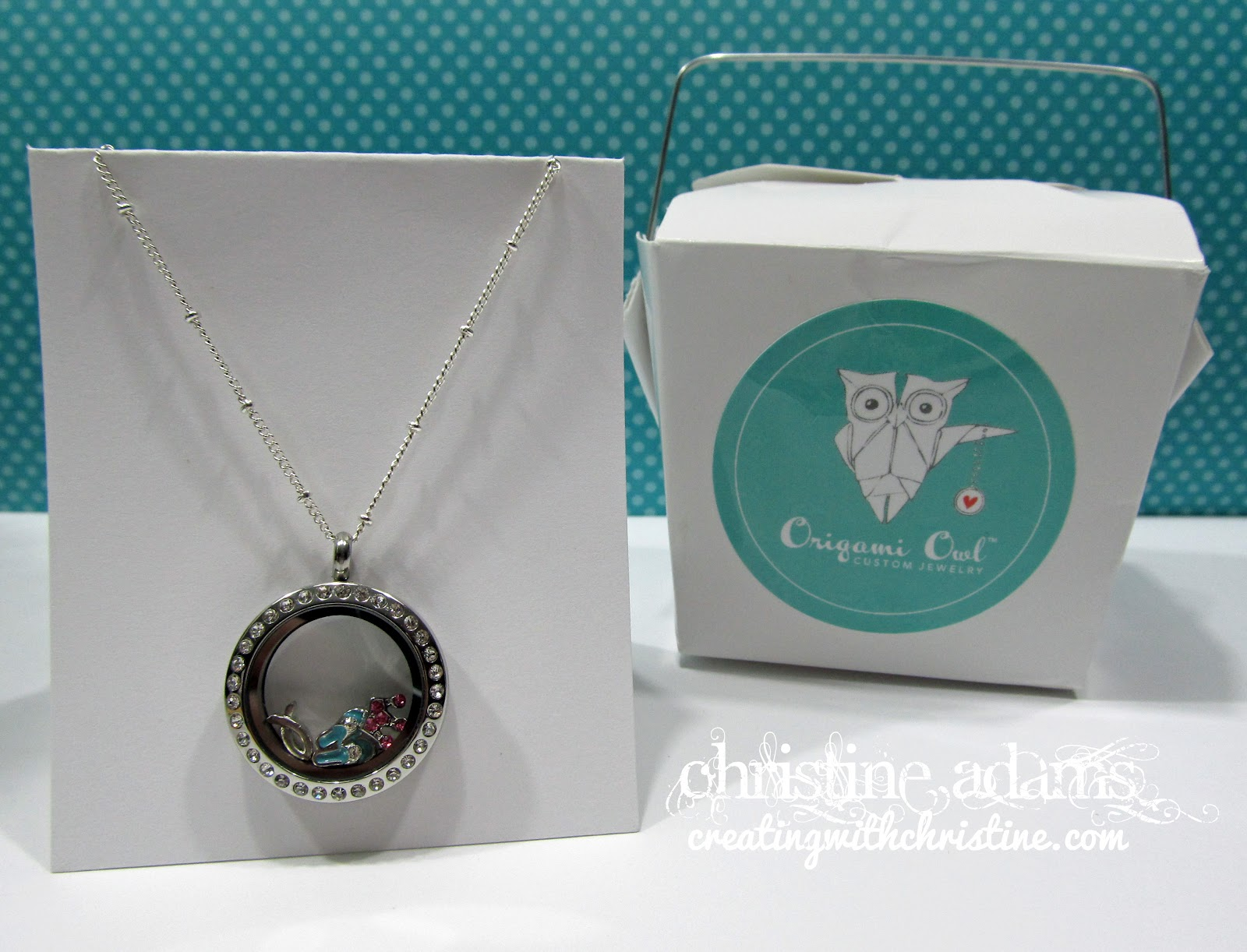 Creating with Christine: Origami Owl Living Lockets - photo#27