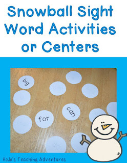 This FREE preschool, Kindergarten, or 1st grade sight word literacy game center is a fun way for your students to practice their pre-primer and primer Dolch sight words!