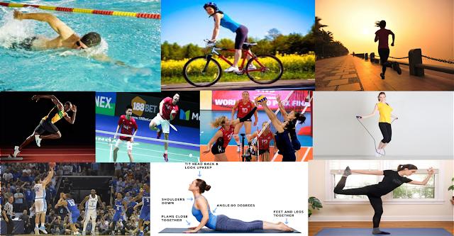 Olahraga Peninggi Badan