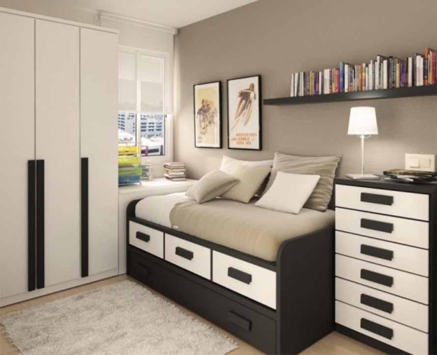 60 desain kamar tidur ukuran kecil sedehana minimalis dan