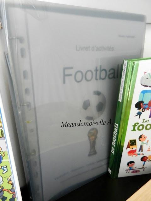   Table thématique : Le football - Livret d'activités Maaademoiselle A. Shop