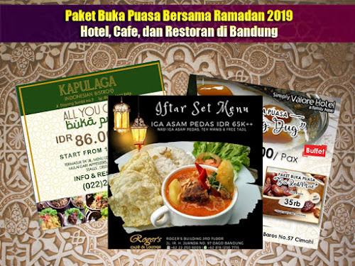 Paket Bukber Bandung Ramadhan 2019