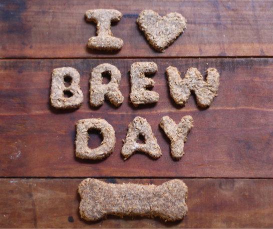 Spent Brewing Grain Dog Treats