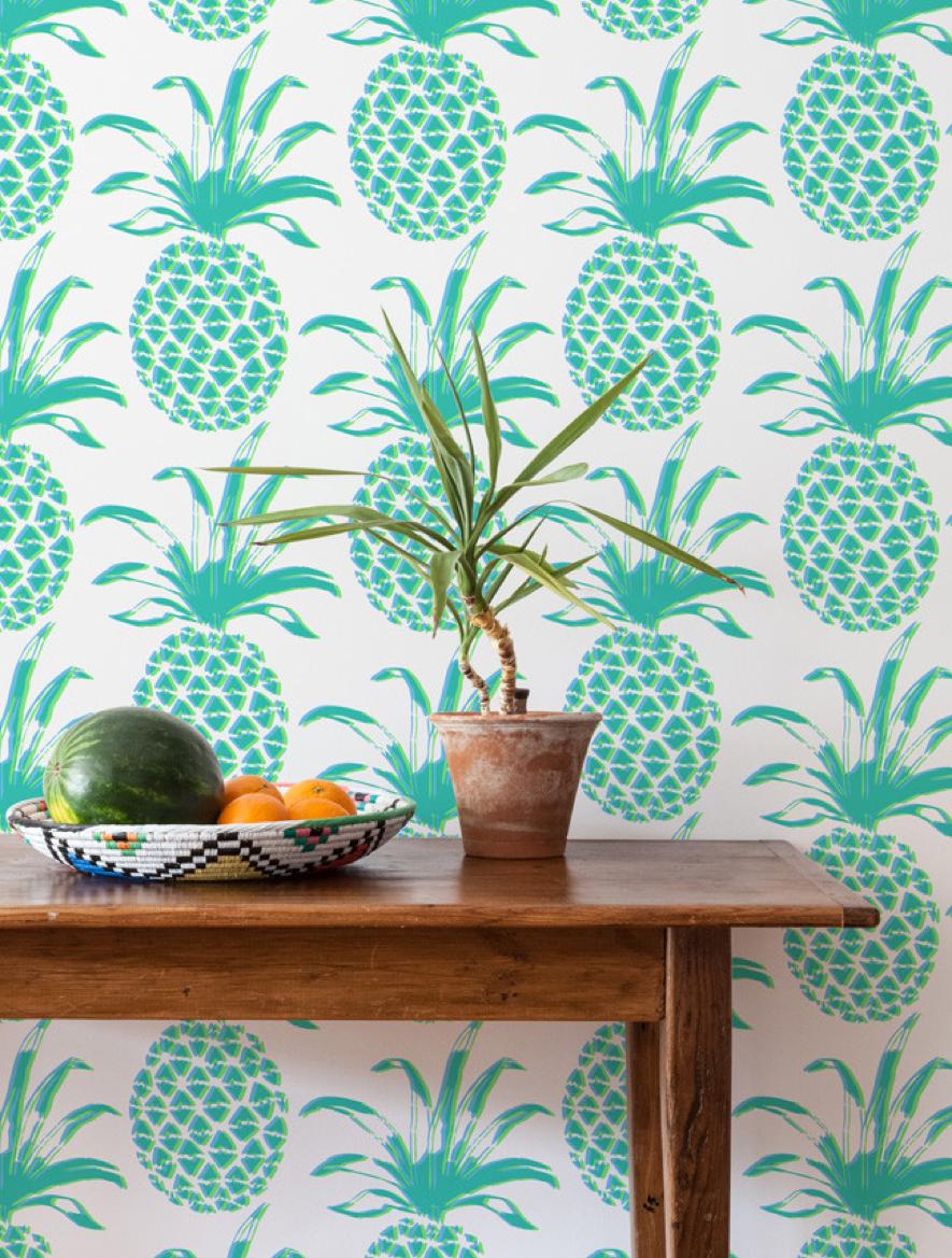 Papeles pintados para habitaciones tropicales sanson 39 s - Papeles pintados para habitaciones ...