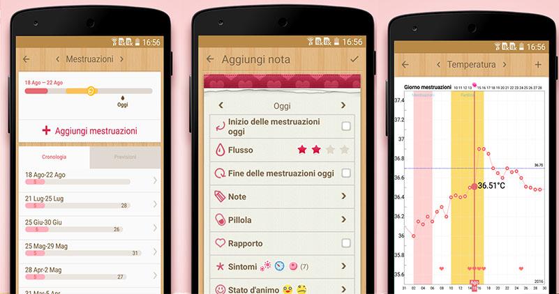 Il Mio Calendario Del Ciclo.Le 4 Migliori App Per Controllare Il Ciclo Mestruale