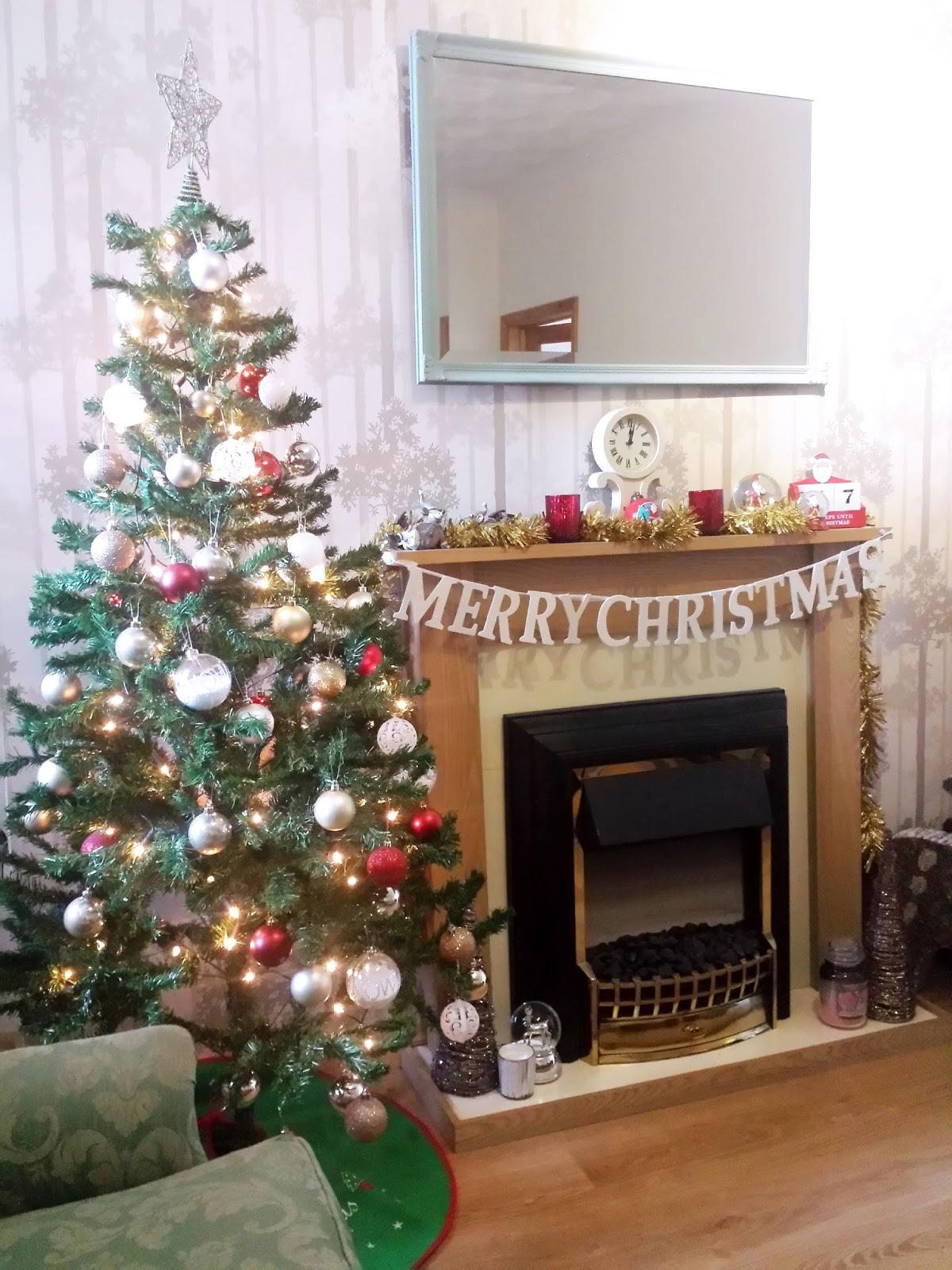 Christmas Tree Decorating with Debenhams