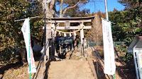 町田市の飯守神社 参道