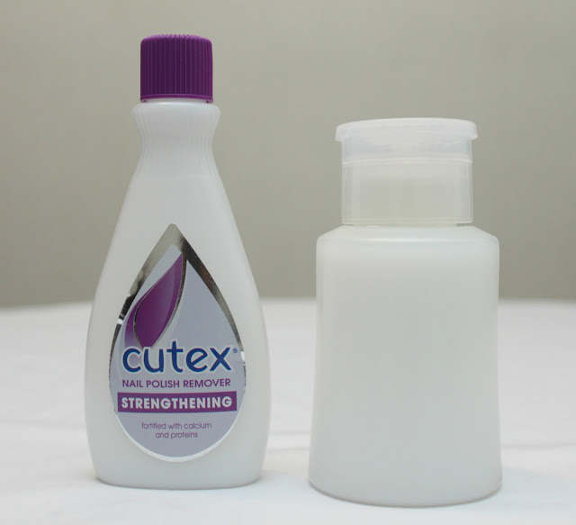 Cutex Nail Polish Removers
