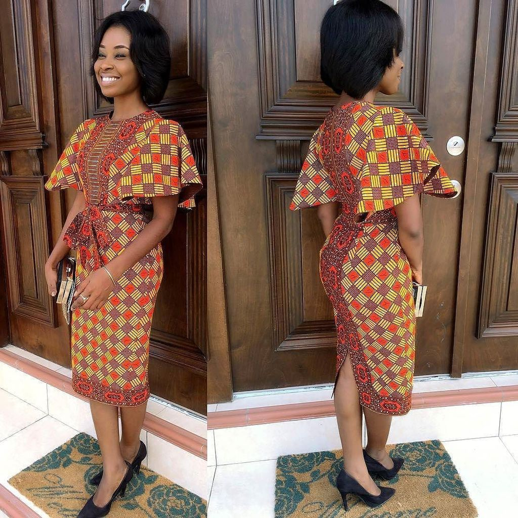 Robe Africaine: Top 30 Casual African Print Skirts And Dresses