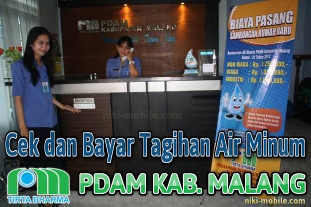 Niki Reload - Cara Cek dan Bayar Tagihan Air Minum PDAM Kabupaten Malang Jawa Timur