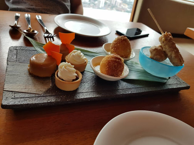 Nobu Sky High Tea Menu