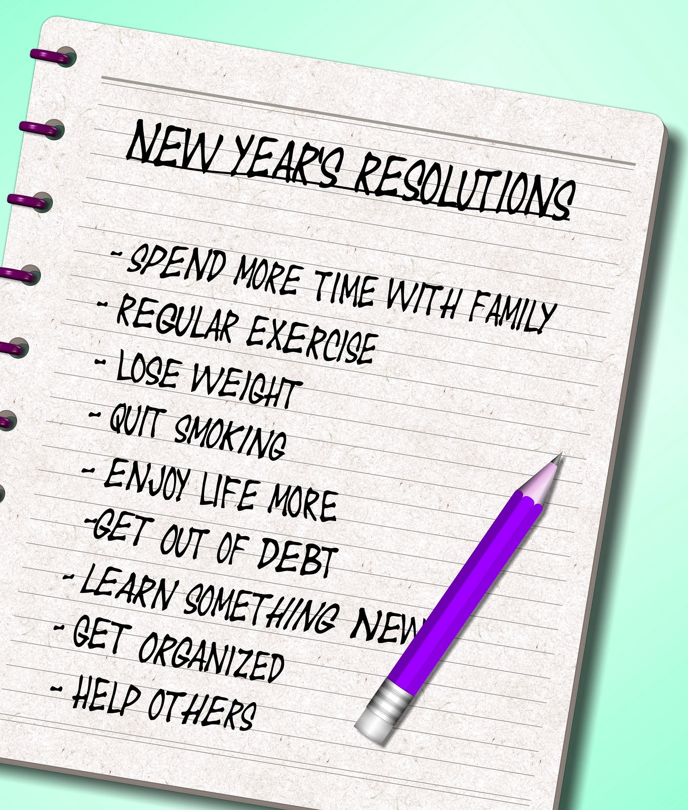 Top New Year Resolution Ideas 2018 for Students Employees Business