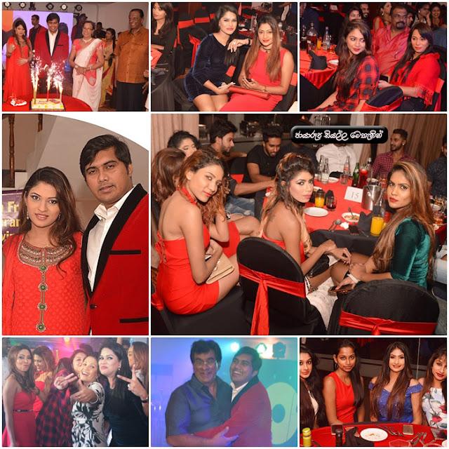 Model Prasad Deshapriya's birthday held amidst galore of models