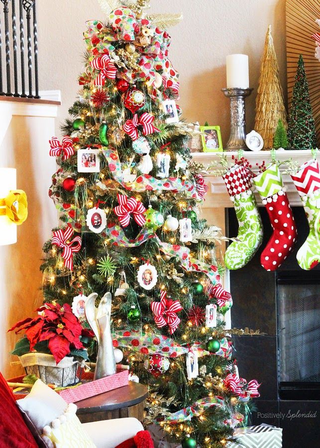 anna and blue paperie: 10 Best Christmas Tree Decorating Ideas