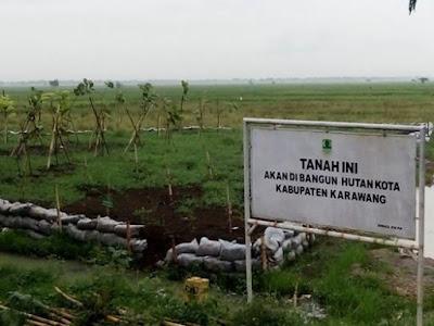 Segera Dibangun Hutan Kota Karawang