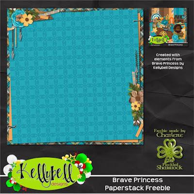 Kellybell Designs Presents Brave Princess