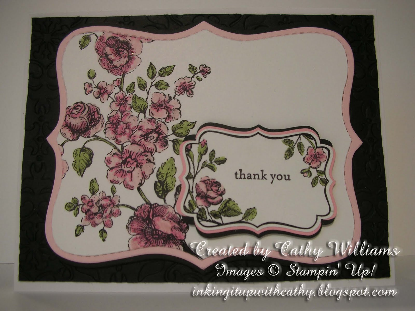 Inking It Up With Cathy: Stampin\' Up!\'s Elements of Style & April ...